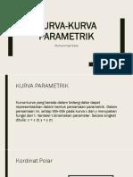 KURVA-KURVA PARAMETRIK
