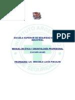 Manual de Etica y Deontologia Profesional
