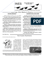 October 2004 Shorelines Newsletter Choctawhatchee Audubon Society