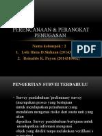 Perencanaan & perangkat penugasan