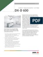 Agfa DX-D 600 Datasheet