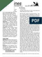 September 2005 Shorelines Newsletter Choctawhatchee Audubon Society