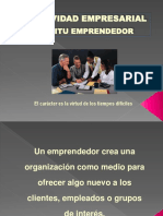 1.6 Perfil Del Emprendedor