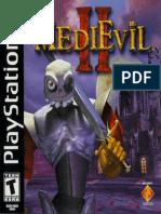 Medievil II - Manual - PSX