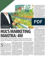 HUL's Marketing Mantra