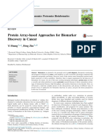 Protein Array-based Approaches for Biomarker Discovery in Cancer