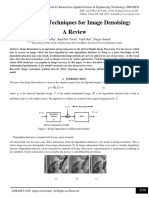 Variational Techniques for Image Denoising