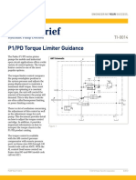 P1PD Torque Limiter Guidance