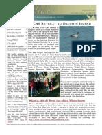 March 2007 Shorelines Newsletter Choctawhatchee Audubon Society