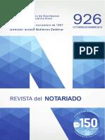 Revista Notariado_926- 2016