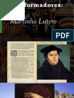 Vida e Teologia de Lutero