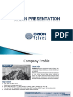 Orion Presentation