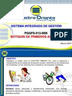 Pggfs-013-i008_instructivo de Botiquines y Primeros Auxilios