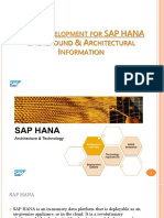 ABAP Development for SAP HANA - Background & Architectural Information