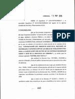 Decreto 443/15 de la provincia de Córdoba
