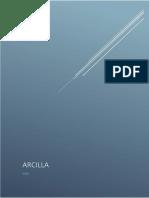Trabajo Investigacion Arcilla-I