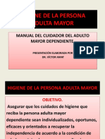 Higiene de La Persona Adulta Mayor