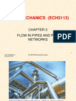 Fluid Mechanics (ECH3113)-Chapter 3 Flow in Pipes