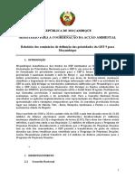 GDMOZ_MICOA. Relatorio Dos Seminarios Das Prioridades Do GEF5 Moz