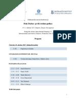 Mak Dizdar 100 - Program Konferencije FINAL