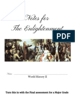 the enlightenment notes