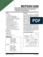 Mcp320x 12-Bit Adc