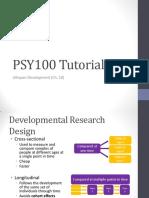PSY100 Tutorial Ch 10