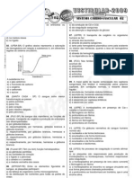 Biologia - Pré-Vestibular Impacto - Sistema Cárdio-Vascular - Exercícios