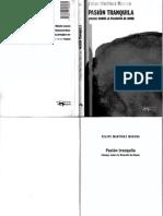 Martinez Marzoa Felipe - Pasion Tranquila - Ensayo Sobre La Filosofia De Hume.pdf