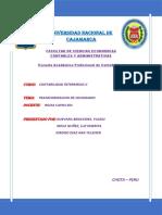 Informe de Transformacion de Sociedades