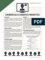 Dinâmicas e Debates Remotos