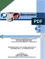 Presentación de Las Tic