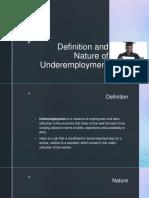 Under Employment
