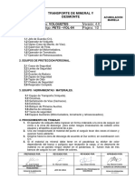 Pets-004 Aja-Vol Transporte de Mineral y Desmonte