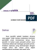 Ileus Paralitik