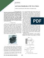 Paper RC Servomotor