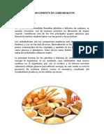 Reconocimiento de Carbohidratos