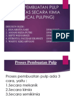Ppt Pulp and Paper (Chemical Pulping)-1
