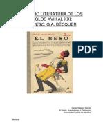 """Análisis """"El Beso"""" de Bécquer"""