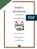 Trabajo Unidad 1 de programación conceptos básicos