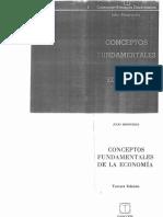 JM Conceptos Fundamentales de La Economia