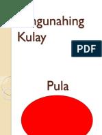 Pangunahing Kulay at Pangalawang Kulay