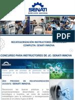 Recategorización Instructores de Jc Senati Innova