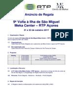 DRAFT Anuncio Regata RTP MekaCenter 2017