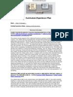 cd 12 curriculum experience plan 1