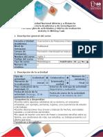 Activity 3 Writing Task - Guía y Rúbrica - Copia
