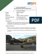 Informe Reparacion Estructural Planta de Asfalto Cifali