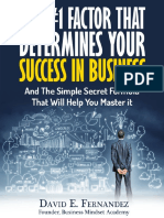 MINDSET the 1 Factor That Determines Your Success in Business eBook