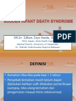 34. Kegawatdaruratan Dan Traumatologi_Sudden Infant Death Syndrome