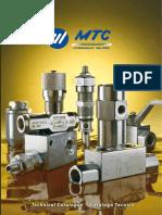 MTC Hydraulic Valves Catalog 2012